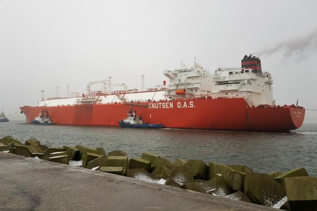 Do terminalu LNG w Świnoujściu dotarła 50. dostawa