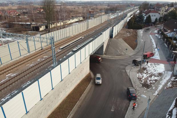 Wiadukt kolejowy w Zabierzowie udostępniony kierowcom