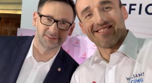 Daniel Obajtek wiąże duże nadzieje ze współpracą Orlenu z Robertem Kubicą