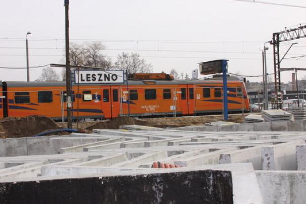 Inwestycja PKP PLK usprawni komunikację w Lesznie