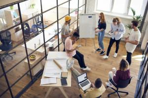 Start-upy pokochały biura typu flex