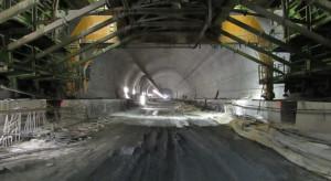 Wznowiono prace przy budowie najdłuższego tunelu w Polsce