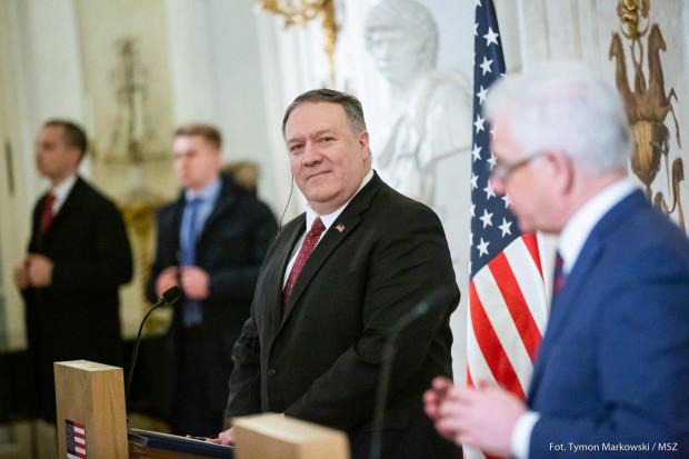 Pompeo: USA są przeciwne Nord Stream 2