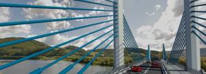 Górską rzekę przetnie 600-metrowy most. Chce go budować ośmiu wykonawców