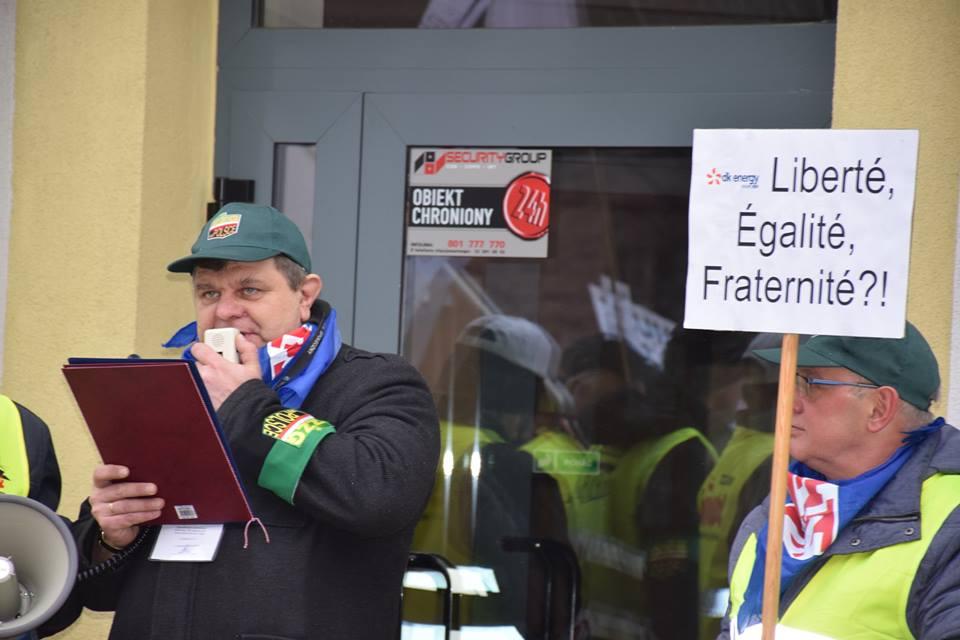 Arkadiusz Siekaniec, wiceprzewodniczący Związku Zawodowego Górników w Polsce