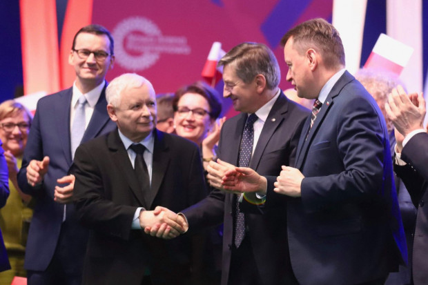 Protest w Warszawie. Górnicy z JSW piszą do Jarosława Kaczyńskiego