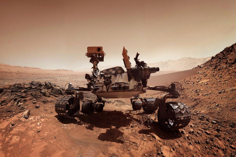 Łazik marsjański Curiosity. Fot. Shutterstock.com