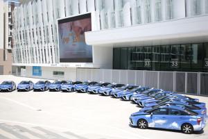 Toyota w spółce budującej flotę wodorowych taksówek