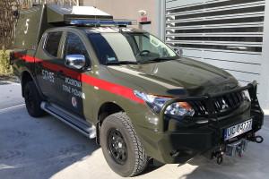 Wojsko ma zupełnie nowe pojazdy do gaszenia pożarów