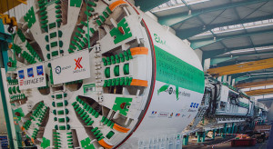 Największa w Polsce maszyna TBM wydrąży tunel pod Łodzią