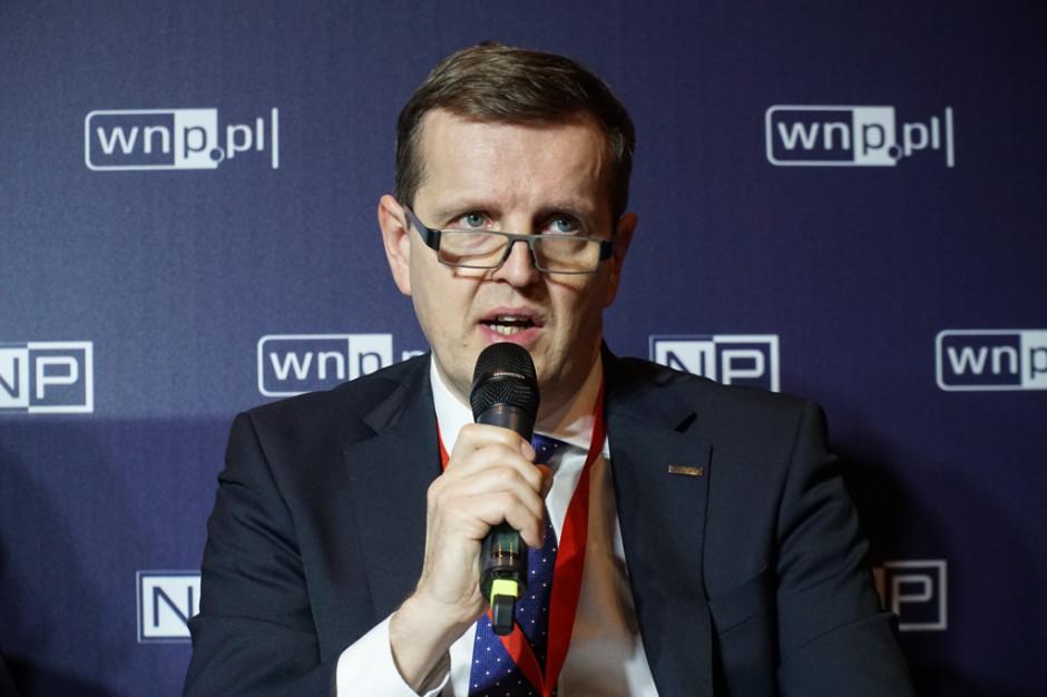 Piotr Wroński, wiceprezes Medcomu. Fot. PTWP