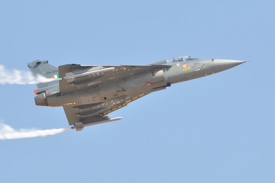 Myśliwiec Mirage w barwach indyjskiego lotnictwa. Fot. Joe Ravi / Shutterstock.com