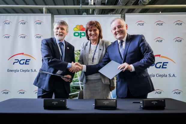 PGE Energia Ciepła i OPEC zawarły  umowę o współpracy