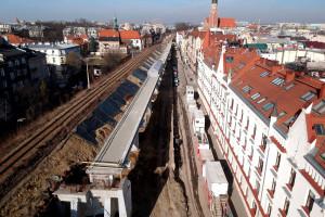 Wielka kolejowa inwestycja w Krakowie w kluczowej fazie