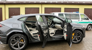 Straż Graniczna udaremniła wywóz Lamborghini wartego 1,4 mln zł