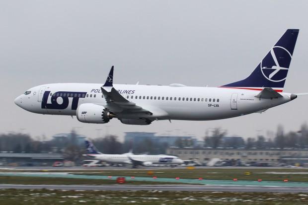LOT rezygnuje z użytkowania Boeingów 737 MAX