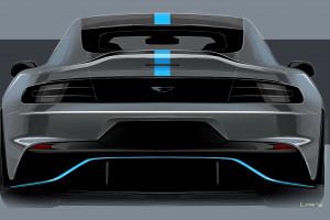 Szkic Aston Martin Rapide E