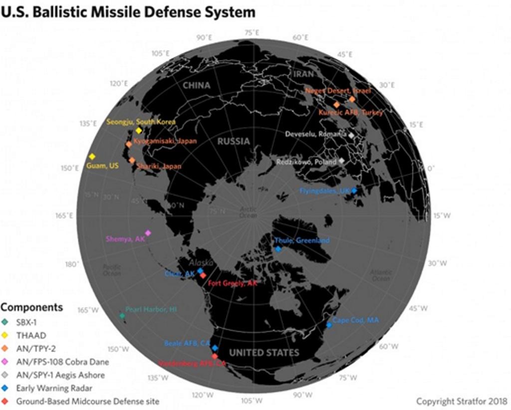 System obrony przeciwrakietowej USA