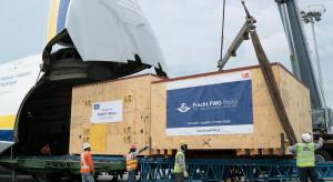 188 ton urządzeń, 75-tonowy transformator do USA. Teraz celują w Afrykę