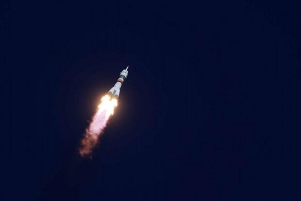 Sojuz MS-12 leci na Międzynarodową Stację Kosmiczną
