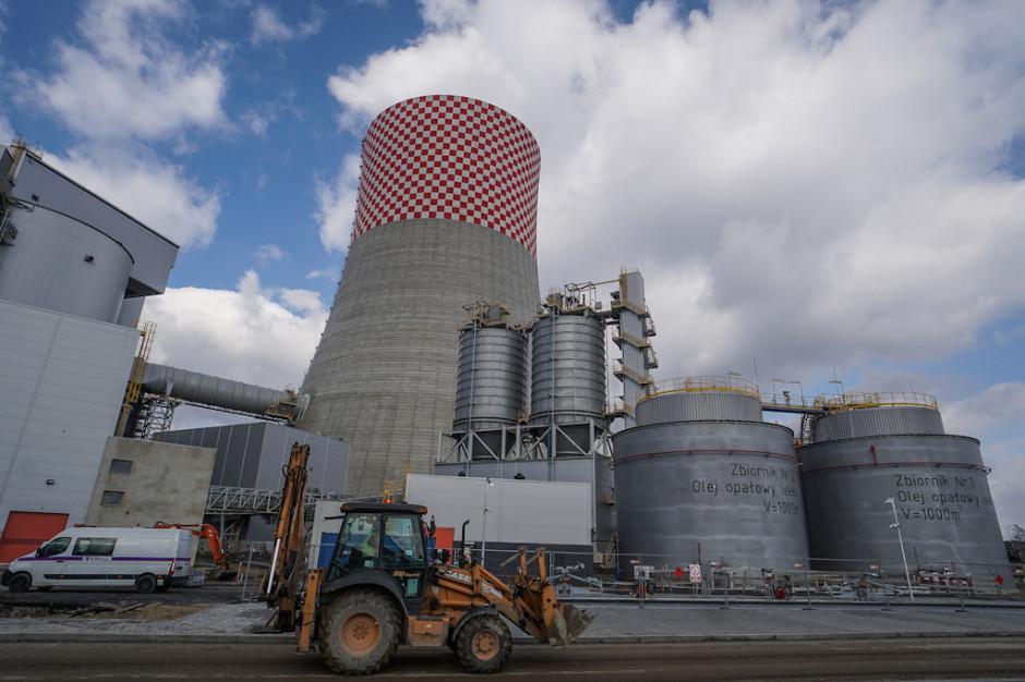 Zaawansowanie budowy bloku o mocy 910 MW w Elektrowni Jaworzno III przekroczyło 87 procent. (foto: PTWP/Michał Oleksy)