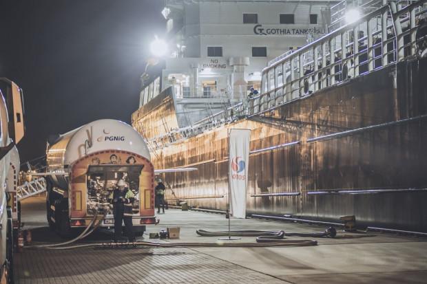 PGNiG z Lotosem tankują statki