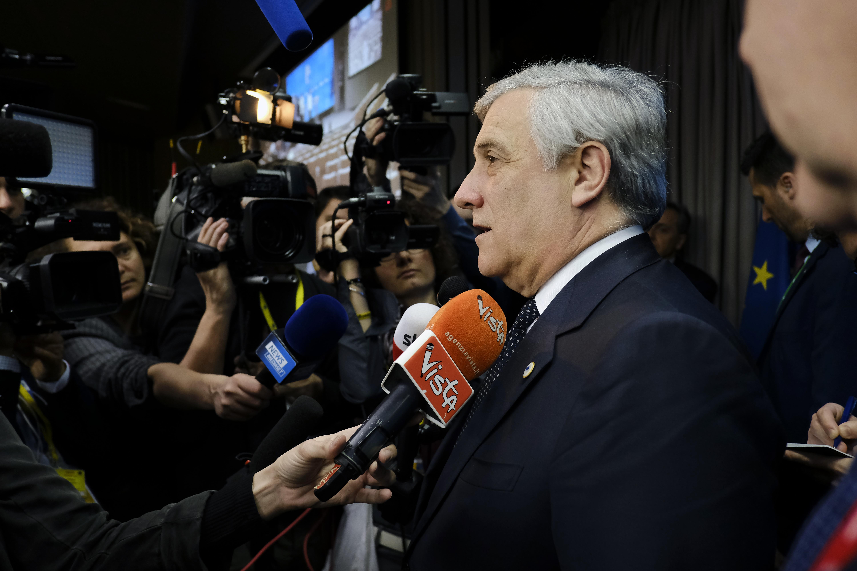 Szef PE Antonio Tajani. Fot. mat. pras. EU
