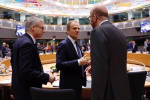 Przywódcy UE potępili na szczycie w Brukseli aneksję Krymu przez Rosję