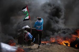Palestyńczycy odpowiadają rakietami na izraelski odwet