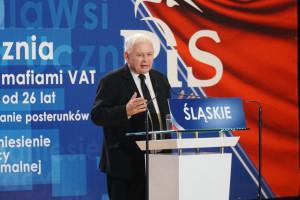 Jarosław Kaczyński: złotówka chroni nas przed wstrząsami