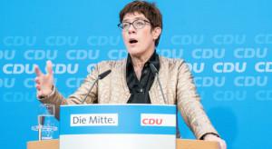 Szefowa CDU o Nord Stream 2: nie jest bliski memu sercu