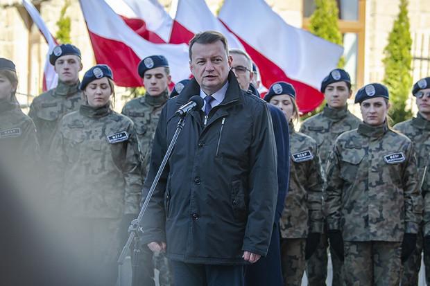 Mariusz Błaszczak o obecności armii USA w Polsce: negocjacje b. zaawansowane