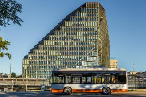 Pierwszy polski autobus elektryczny na Litwie