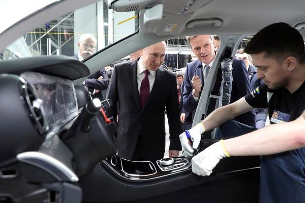 W Rosji otwarto pierwszą fabrykę Mercedesa