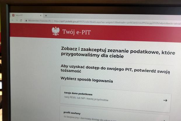 """""""Twój e-PIT"""" bez korekt. Ministerstwo potwierdza"""