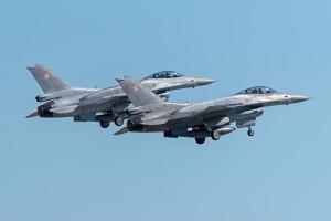 18 misji bojowych polskich F-16 w ramach Baltic Air Policing