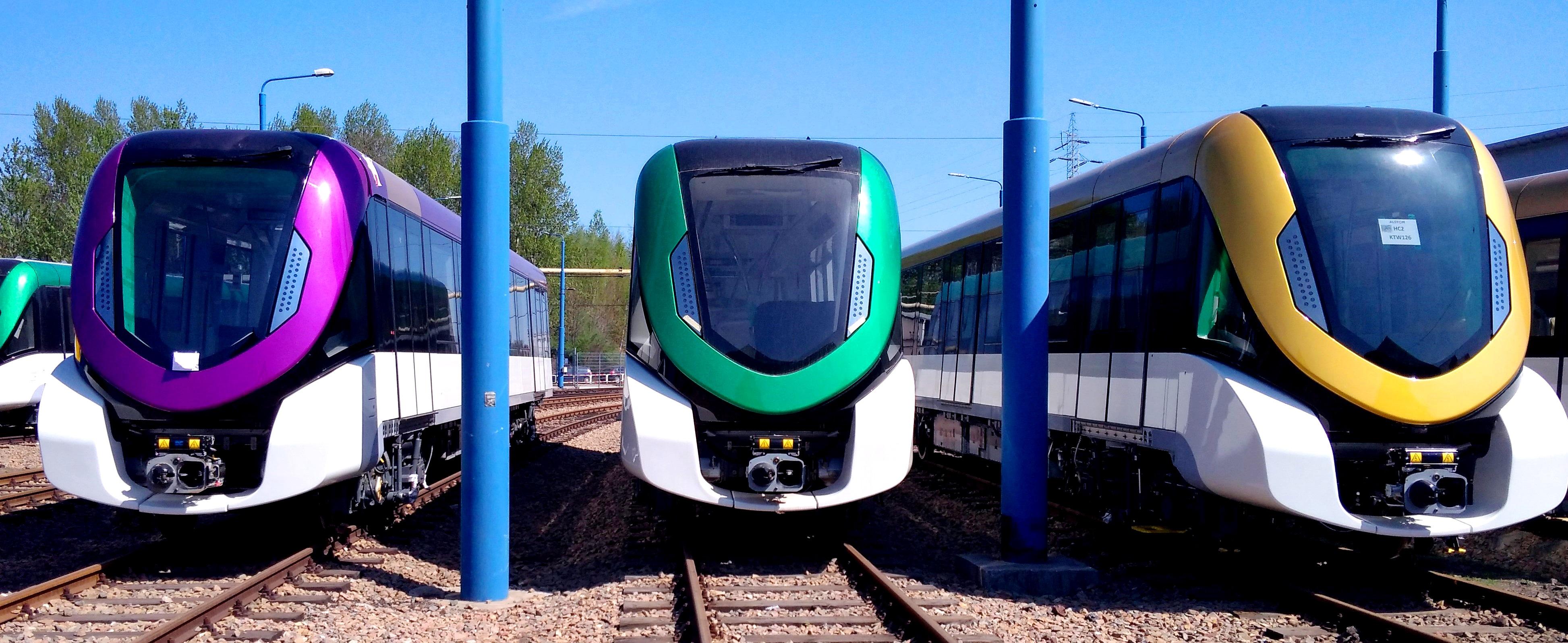 Alstom Konstal kończy dostawę pojazdów metra dla Rijadu za 300 mln euro. Fot. Alstom Konstal