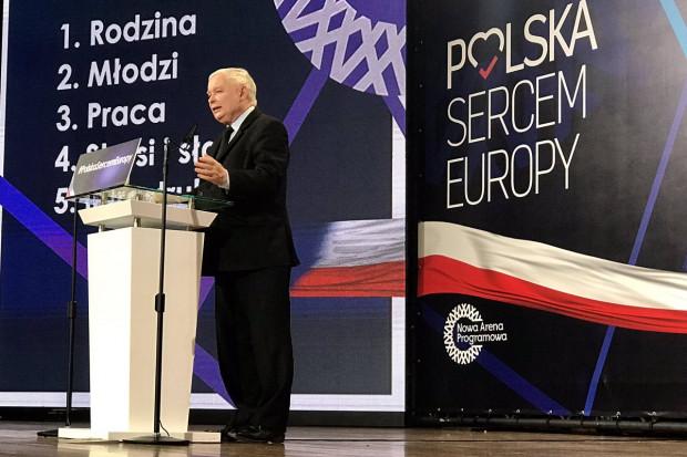 """Jarosław Kaczyński: mówimy """"nie"""" euro, mówimy """"nie"""" europejskim cenom"""