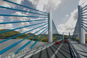 Polacy do spółki z Węgrami wybudują 600-metrowy most przez górską rzekę