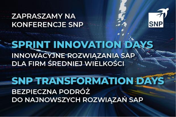 Najnowsze rozwiązania SAP w zasięgu ręki: zapraszamy na majowe konferencje SNP
