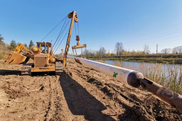 Dwa kluczowe przewierty dla gazociągu na Żerań ukończone