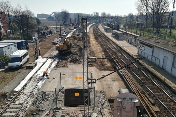 Remont linii kolejowej z Zawiercia do Częstochowy potrwa jeszcze ponad rok