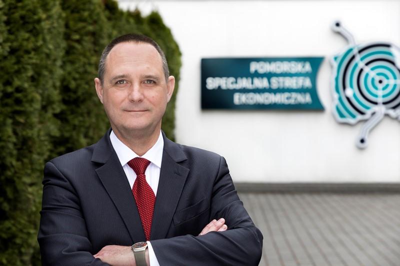 Prezes PSSE Przemysław Sztandera (fot. mat. pras.)