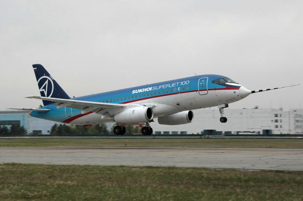 Suchoj Superjet 100 pomimo wypadków będzie nadal latał