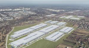 Powstający w Polsce największy w Europie kompleks logistyczny zbliża się do półmetka