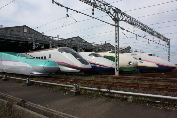 Japonia testuje nową generację pociągu shinkansen