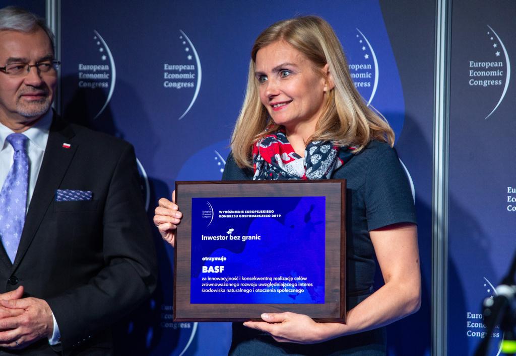 Katarzyna Byczkowska, dyrektor generalna BASF Polska.