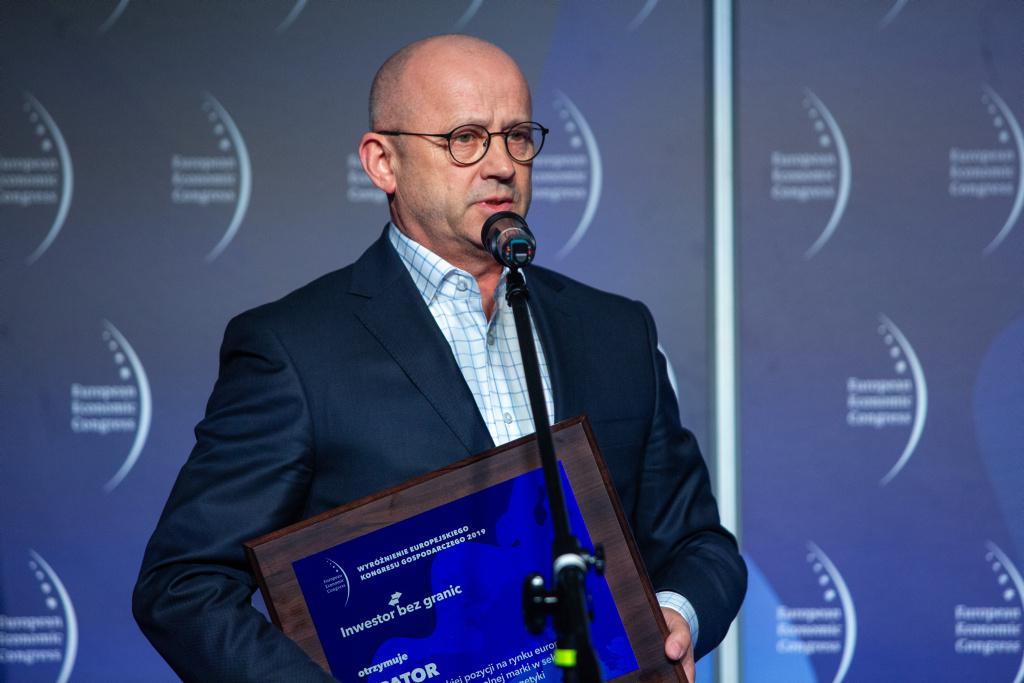 Mirosław Klepacki, prezes spółki Apator.