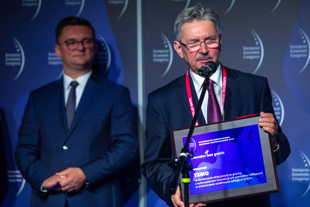 Jan Rosiński, dyrektor ds. rozwoju Toruńskie Zakłady Materiałów Opatrunkowych (TZMO).