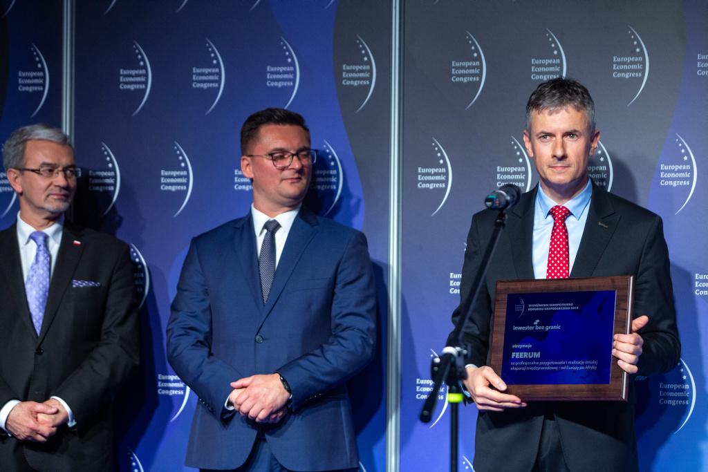 Daniel Janusz, prezes Feerum.